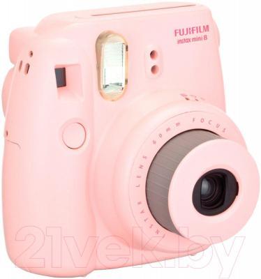 Фотоаппарат с мгновенной печатью Fujifilm Instax Mini 8 (розовый)