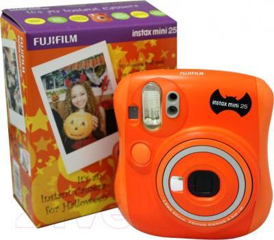 Фотоаппарат с мгновенной печатью Fujifilm Instax Mini 25 (Хеллоуин)
