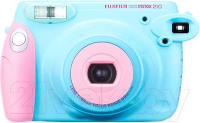 Фотоаппарат с мгновенной печатью Fujifilm Instax 210 (розово-голубой)