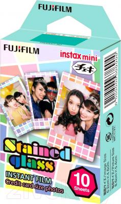 Пленка Fujifilm Instax Mini Stained Glass (10шт)
