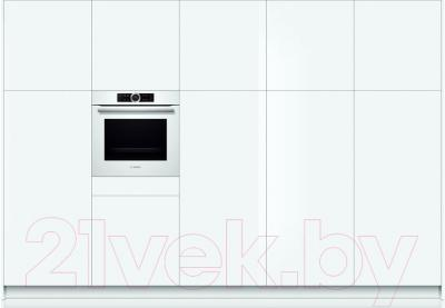 Электрический духовой шкаф Bosch HBG633TW1