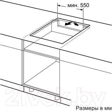Индукционная варочная панель Siemens EH885DN19E