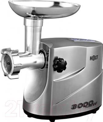 Мясорубка электрическая Holt HT-MG-004 (+насадка-соковыжималка HT-JС-100)