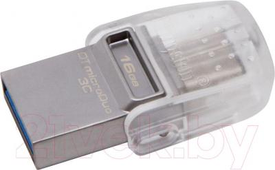 Usb flash накопитель Kingston DataTraveler microDuo 3C 16GB (DTDUO3C/16GB)