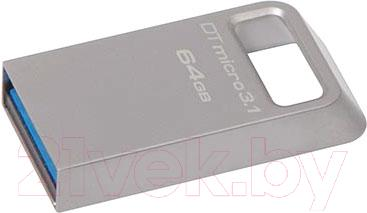 Usb flash накопитель Kingston DataTraveler Micro 3.1 64GB (DTMC3/64GB)