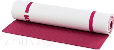 Коврик для йоги KETTLER 7351-100 (бордово-белый)