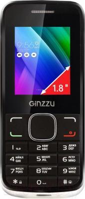 Мобильный телефон Ginzzu M101 Dual mini (белый)