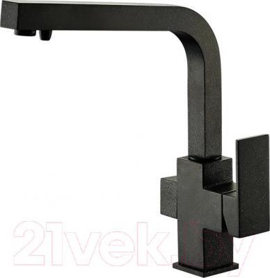 Смеситель ZorG ZR 311 YF (черный металл)