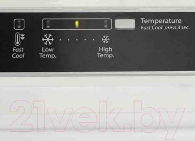 Холодильник с морозильником Whirlpool WTV 4125 NF W