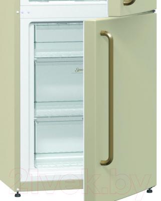 Холодильник с морозильником Gorenje NRK621CLI