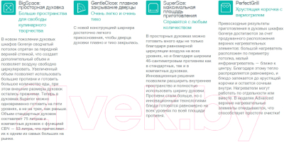 Электрический духовой шкаф Gorenje BO635E20B-2