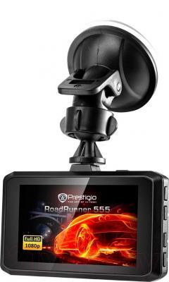 Автомобильный видеорегистратор Prestigio Roadrunner 555 (PCDVRR555)