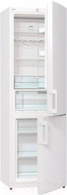Холодильник с морозильником Gorenje NRK6191GW - Инструкция по эксплуатации