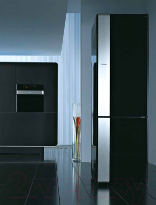 Холодильник с морозильником Gorenje NRKORA62E