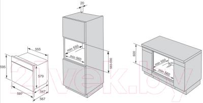 Электрический духовой шкаф Gorenje BO635E20X-2