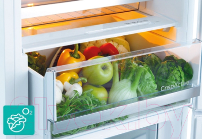 Холодильник с морозильником Gorenje NRC6192TX