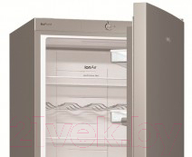 Холодильник с морозильником Gorenje NRK6201GX