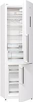 Холодильник с морозильником Gorenje NRK6201TW -