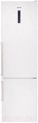 Холодильник с морозильником Gorenje NRK6201TW