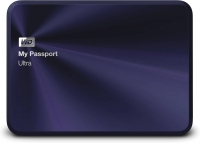 Внешний жесткий диск Western Digital My Passport Ultra Metal Navy 1TB (WDBTYH0010BBA) -