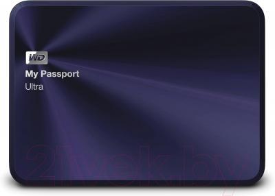 Внешний жесткий диск Western Digital My Passport Ultra Metal Navy 1TB (WDBTYH0010BBA)