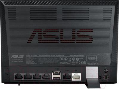 Маршрутизатор/DSL-модем Asus DSL-N17U - вид сзади