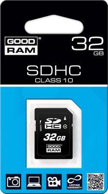 Карта памяти Goodram SDHC (Class 10) 32GB (SDC32GHC10GRR10) - упаковка