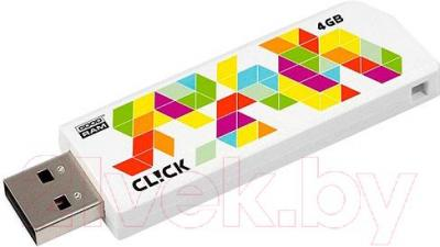 Usb flash накопитель Goodram CL!CK 4GB (PD4GH2GRCLWR9)
