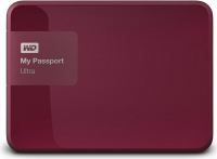 Внешний жесткий диск Western Digital My Passport Ultra 500GB Wild Berry (WDBWWM5000ABY) -