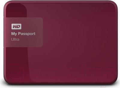 Внешний жесткий диск Western Digital My Passport Ultra 500GB Wild Berry (WDBWWM5000ABY)