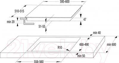 Электрическая варочная панель Gorenje ECT620X