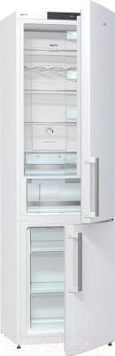 Холодильник с морозильником Gorenje NRK6201JW