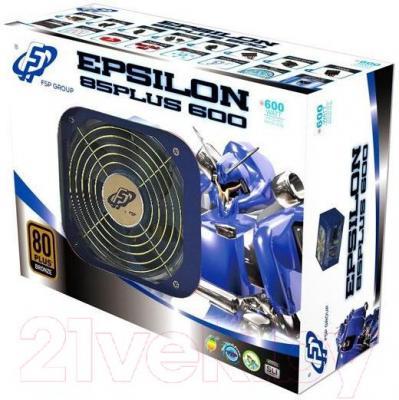 Блок питания для компьютера FSP Epsilon 85Plus 600 (PPA6000913)