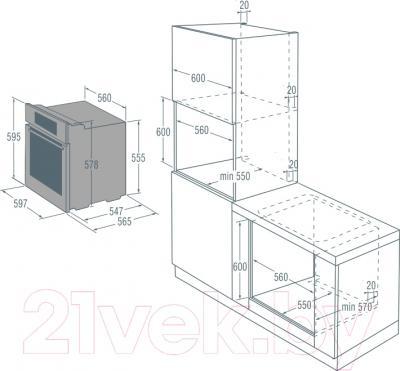 Электрический духовой шкаф Gorenje GP872X