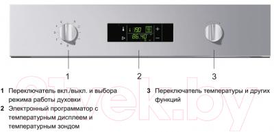 Электрический духовой шкаф Gorenje GP852B