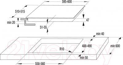 Электрическая варочная панель Gorenje ECT640SC