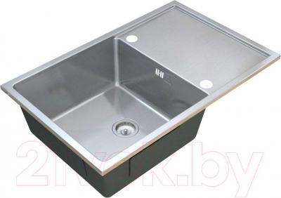 Мойка кухонная ZorG Steel Hammer SH R 7850 Onix