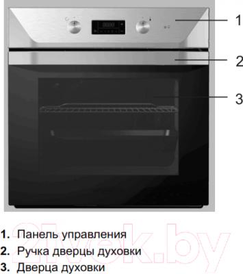 Электрический духовой шкаф Gorenje BO7312SX