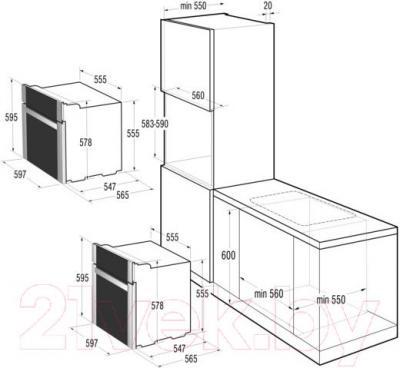 Электрический духовой шкаф Gorenje BO73B