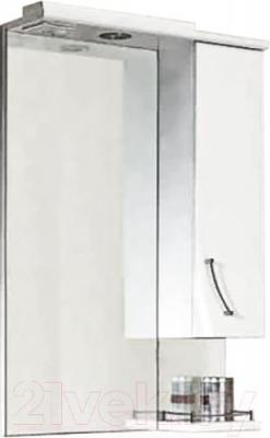 Шкаф с зеркалом для ванной Aqwella Алина 65 (Al.02.06)