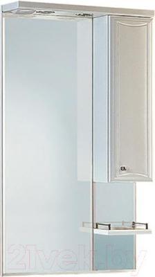Шкаф с зеркалом для ванной Aqwella Барселона Люкс 65 (Ba.02.06)