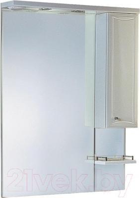Шкаф с зеркалом для ванной Aqwella Барселона Люкс 75 (Ba.02.07)
