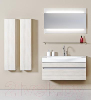 Зеркало для ванной Aqwella Бергамо 100 (Ber.02.10) - в интерьере