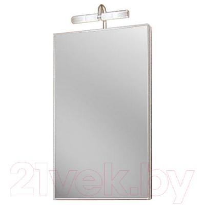 Шкаф с зеркалом для ванной Aqwella Дельта 45 (Del.04.33)