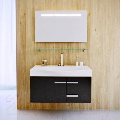Полка для ванной Aqwella Европа 100 (Eu.06.10) - в интерьере