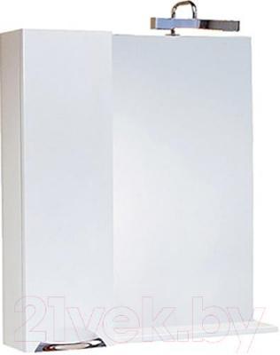 Шкаф с зеркалом для ванной Aqwella Лайн 75 (Li.02.07)