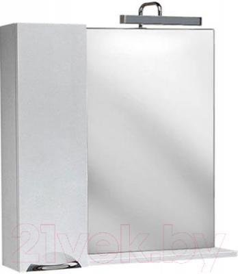 Шкаф с зеркалом для ванной Aqwella Лайн 85 (Li.02.08)