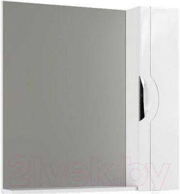 Шкаф с зеркалом для ванной Aqwella Н-Лайн 75 (N-Li.02.07)