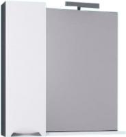 Шкаф с зеркалом для ванной Aqwella Плазма Pl.02.08/Gr -