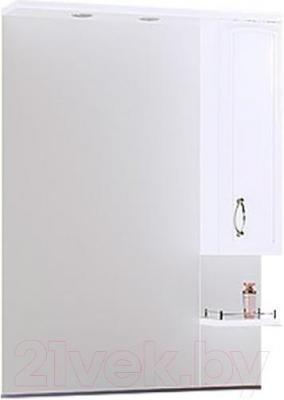 Шкаф с зеркалом для ванной Aqwella Харизма 80 (Kh.02.08)